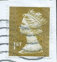 2011 1ST (S/A) 'GOLD'  (U SLITS) 'MACHIN FORGERY' (NO CODES) FINE USED