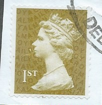 2011 1ST (S/A) 'GOLD' (U SLITS) MACHIN FORGERY(NO CODES)   FINE USED