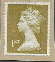 2011 1ST (S/A) 'GOLD' (U SLITS) MACHIN FORGERY (NO CODES) FINE USED