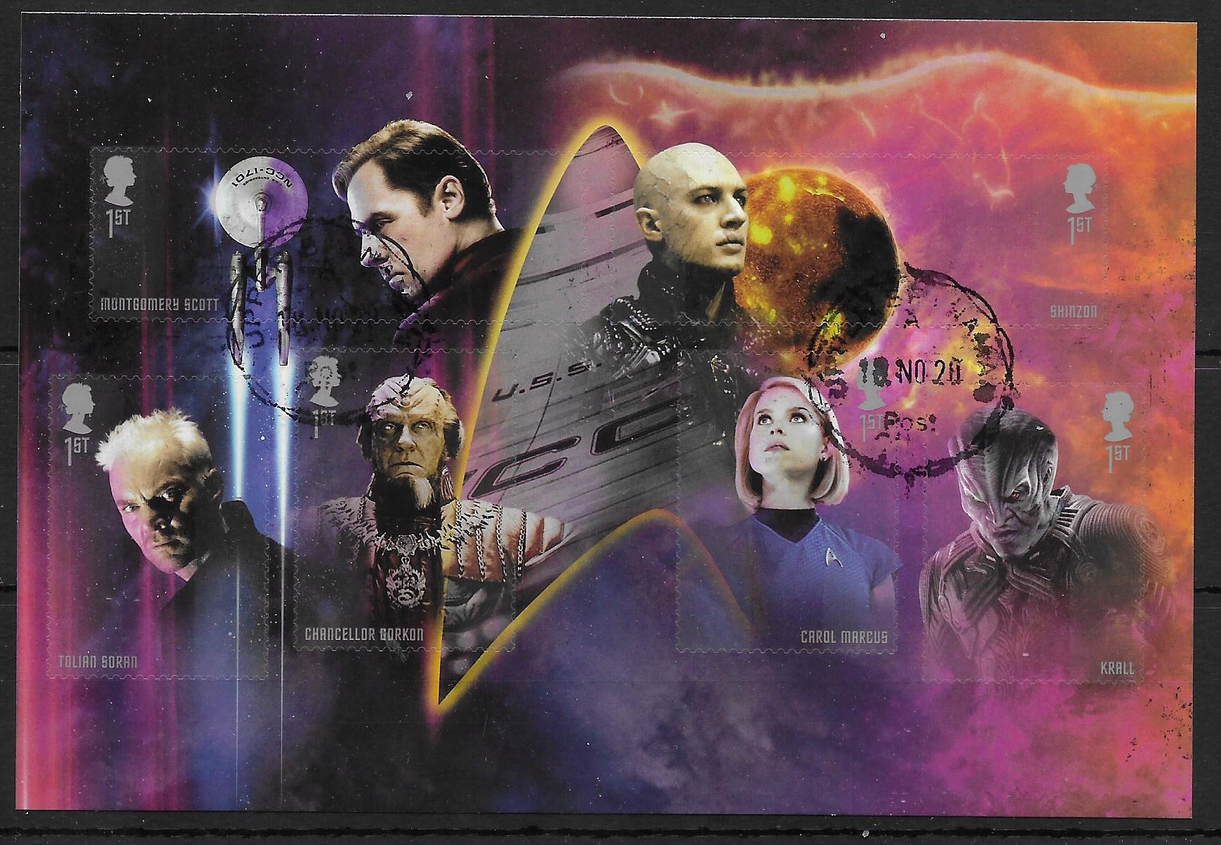 2020 ''Star Trek'' m/s fine used